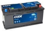 AKUMULATOR 110AH D+ 850A EXCELL EXIDE 392X175X190 - 110AH
