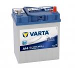 AKUMULATOR 40AH D+ 330A BLUE DYNAMIC VARTA 187X127X227 533058 -
