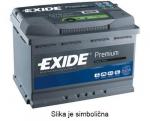 AKUMULATOR 53AH D+ 540A PREMIUM EXIDE 207X175X190 - 53AH