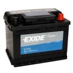 AKUMULATOR 55AH D+ 460A CLASSIC EXIDE 242X175X190 - 55AH