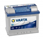 AKUMULATOR 60AH D+ 560A BLUE DYNAMIC EFB VARTA 242X175X190 65954