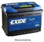 AKUMULATOR 62AH D+ 540A EXCELL EXIDE 242X175X190 - 62AH
