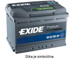 AKUMULATOR 64AH D+ 640A PREMIUM EXIDE 242X175X190 - 64AH