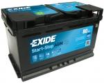 AKUMULATOR 80AH D+ 800A (AGM800) AGM EXIDE 315X175X190 - 80AH