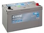 AKUMULATOR 95AH D+ 800A PREMIUM EXIDE 306X173X222 - 95AH (ZA JAP