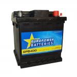AKUMULATOR AH40 D+ 340A EURO POWER BATTERIES 175X175X190 533384
