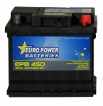 AKUMULATOR AH45 D+ 400A EURO POWER BATTERIES 207X175X190 533388
