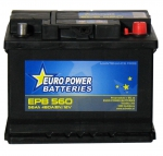 AKUMULATOR AH56 D+ 480A EURO POWER BATTERIES 242X175X190 533393