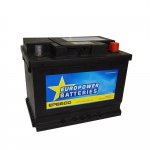 AKUMULATOR AH60 D+ 540A EURO POWER BATTERIES 242X175X190 534165