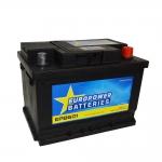 AKUMULATOR AH60 D+ 540A EURO POWER BATTERIES 242X175X175 533447