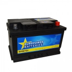 AKUMULATOR AH70 D+ 640A EURO POWER BATTERIES 278X175X175 533456