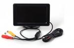 Barvni TFT LCD zaslon (4,3 inče) za kamero za vzvratno vožnjo