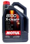 MOTUL 8100X-CLEAN+ 5W30 5L MOTORNO OLJE + DARILO MOTUL TELOĆINA