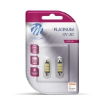M-TECH ŽARNICA LED LED C5W 41MM 13.6V 9XDURIS E5 BELA - WHITE