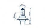 NARVA ŽARNICA UPGRADES H7 RPB+ 12V 55W PX26D NVA B1 1/1 48638400