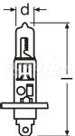 OSRAM ŽARNICA H7 12V 55W KARTON 1/1 STANDARD 4050300332185 OSRAM