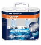 OSRAM ŽARNICA H4 12V 60/55W DUOBOX 2/1 NIGHT BREAKER® UNLIMITED