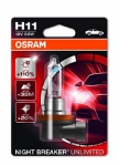 OSRAM ŽARNICA H11 12V 55W BLISTER 1/1 NIGHT BREAKER® PLUS 405289