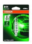 OSRAM ŽARNICA H1 12V 55W BLISTER 1/1 ULTRA LIFE 4008321416100 OS