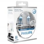 PHILIPS ŽARNICA H4 WHITE VISION SM 2/1 + 2X W5W 78886328 12V 60/