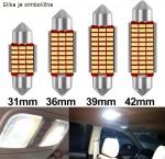 LED žarnica CEVNA / Canbus / 42mm