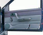 Podstavki za zvočnike FIAT Punto (1) - siva